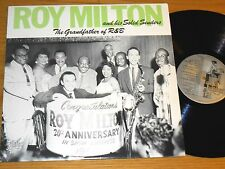 """GREAT IMPORT BLUES LP - ROY MILTON - JUKEBOX LIL 600 -""""THE GRANDFATHER OF R&B"""""""