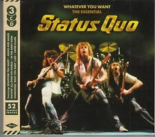 Status Quo - Whatever You Want, The Essential, 3CD Edition Neu