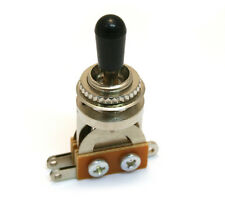 Nickel Short Straight 3-way Pickup Toggle Switch for Guitar/Bass EP-0066-000