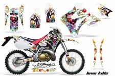Honda Graphic Kit AMR Racing Bike Decal CRM  250AR Decal MX Part ALL ED HARDY W