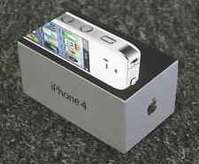 Auténtico original BOX Apple iPhone 4 8GB Blanco - original VACÍO BOX
