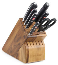 Wusthof Classic 8 Piece Deluxe Block Knife Set with Acacia Block 8408-6 NEW