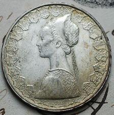 1965 Repubblica Italiana 500 lire  argento   doppio bordo