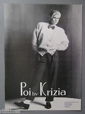 R&L Ex-Mag Advert: Poi by Krizia Fashion / Debenhams Charge Card 80's Fashion