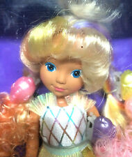 Mattel Lady Lovely Locks 3 Sea Magic Pixietails Vintage 1987 Doll Figure Dress
