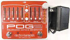Used Electro-Harmonix EHX POG 2 Polyphonic Octave Generator Effects Pedal!