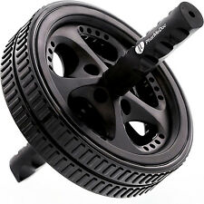 PharMeDoc Ab Wheel Roller Total Body Workout Fitness Exercise Speed Core Carver