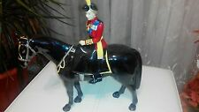 Beswick limrted edition trooping of the colour,Queen Elizabeth II on black horse