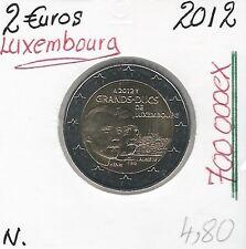 2 Euros - LUXEMBOURG - 2012 // Qualité: Neuve