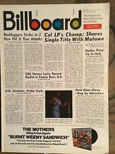Billboard Jan 3rd 1970 Rascals Aretha Franklin Moody Blues Brel Quicksilver