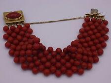 wunderschönes italienisches Koralle Armband Gold 750 Verschluss rote Koralle