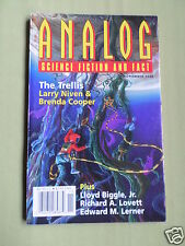 ANALOG - SCIENCE FICTION & FACT MAG  - NOV 2003- LARRY NIVEN / BRENDA COOPER