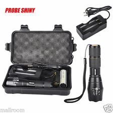 6000LM X800 shadowhawk CREE T6 LED Taschenlampen Torch G700 Flashlight 18650 Set