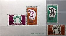 CAR Central African REP 1972 289-90 blocco 8 c100-01a Olympics Monaco BOXING MNH