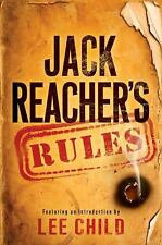 JACK REACHER'S RULES by Lee Child (2012)  -1st-1st- RARE- SUPER NICE
