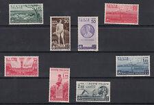Regno ITALIA 1936 Bimillenario nascita Orazio Sassone 398/405 NUOVA LUSSO MNH**