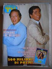 TV SORRISI E CANZONI  n°41 1983 con album Figurine della TV  [GS48]