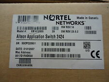 EB1412003 NORTEL NETWORKS ALTEON WEB SWITCH 2424 BRAND NEW!