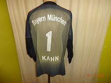 "FC Bayern München Adidas Torwart Trikot ""-T---Mobile-"" + Nr.1 Kahn Gr.S- M TOP"