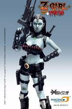 Phicen 1/6 PL2015-77 Zombie Z-Girl Warrior With Big Breast Body US Seller