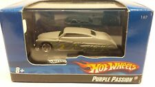 Hot Wheels Purple Passion Grey  Diecast Car NIB 1:87 HO Train Scale