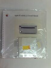 APPLE II UNIDISK 3.5 OWNERS MANUAL # 030-1151-B  WITH FLOPPY DISC NEW IN BAG