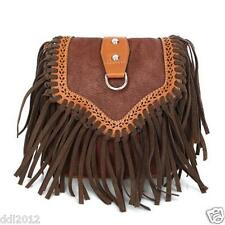 Fashion Women Tassel Fringe CrossBody Messenger Bag Shoulder Tote Satchel Purse