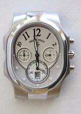 Philip Stein Lg Stainless Steel Classic Natural Frequency Technology Watch $600