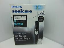Philips Sonicare 2 Series rechargeable electric toothbrush, Black, HX6211