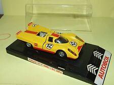 PORSCHE 917 SHELL N°12 MONZA 1970 MERCURY AUTOBOX 308/b 1:43 Arrivée 11èm défaut