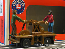 LIONEL WESTERN UNION HANDCAR o gauge train mr rail maintenance  6-81440