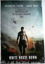 Movie Poster WHITE HOUSE DOWN Channing Tatum 2013 Jamie Foxx - Action Thriller