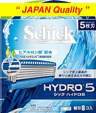 "Schick HYDRO 5 Razor Blade Refill Cartridges 8pcs from ""JAPAN Quality"" Free Ship"