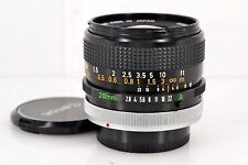 Excellent Canon FD 28mm f/2.8 S.C from Japan