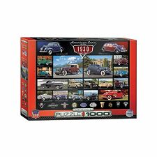 Classic American Cars of the 1930's Jigsaw Puzzle - 1000 pc.