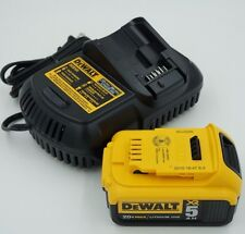 DeWalt 20V MAX 5.0Ah Lithium-Ion Battery DCB205 & Charger DCB101 12V/20V Kit