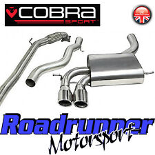 "Cobra Audi S3 2.0 3"" Turbo Back Exhaust System Stainless Non Res Inc De Cat 3 Dr"