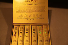 Spanish Gold Fly Female Sexual Enhancer Drops ONE FULL BOX 12 Tubes