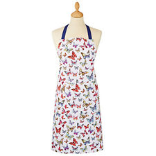 Ladies Women Apron Cooking Chef Kitchen Vintage Novelty Butterfly Cotton Pocket