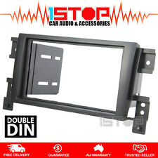 SUZUKI GRAND VITARA 2005-2012 DOUBLE-DIN FACIA KIT dash fascia panel surround