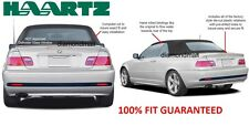 BMW 3-Series E46 Convertible Soft Top HAARTZ Stayfast Cloth New! (2000-2006)