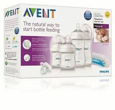 AVENT Newborn Starter Set Natural Baby Feeding Bottles SG-550