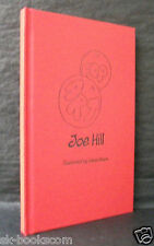 POP ART Joe Hill US SIGNED DOODLED LETTERED ED Subterranean Press VERY Very RARE