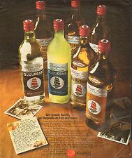 Publicité Advertising  //   Duquesne  c'est le Punch de Fort de France
