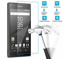 100% Ultra Clear Tempered Glass Film Screen Protector Guard For Sony Xperia E5