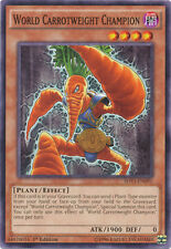 3x World Carrotweight Champion - SHVI-EN091 - Common - 1st Edition YuGiOh NM SHV