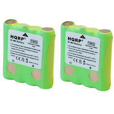 2-Pack HQRP Battery for Cobra PR3175-WX PR350-WX Two-Way Radio
