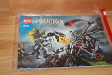 Lego Wikings - Bauanleitung / Instruction für das Lego Set 7021