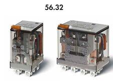 FINDER 56.32.8.024 RELE' INDUSTRIALE 12A - 250V - 24Vac - 2 CONTATTI