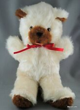 "Regal Toy Ltd Canada Teddy Bear 15"" Fluffy Plush Seam Tag c1960s 70s Vintage"
